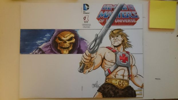 Custom Masters of the Universe 1 Blank Cover  by DerFanboy