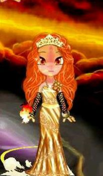 Flame Princess by Invader-Kabuscus