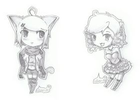 ::Chibi prizes:: by Chao-Illustrations
