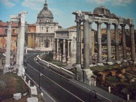 City of Rome, Italy by NewYorkArtistFrancis