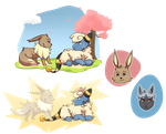 PKMNation: A Shocking Meeting + Some levels by Rosbelle