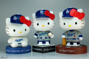 Dodgers Hello Kitty by Garivel