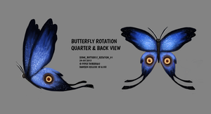 DAY 309. Sidhe - Butterfly Rotation by Cryptid-Creations