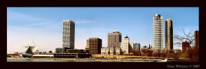Milwaukee skyline by mr-sarcastic1984