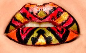 Aztec lip by Floresiensis