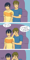 MakoHaru: Scary Movie by Rhaylee