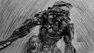 Master Chief by SuWift