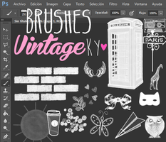 Brushes VintageKy by WorldCustomize