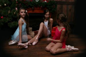 Christmas ballet by DominaWhite