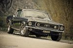Blue Ford Mustang Fastback by AmericanMuscle
