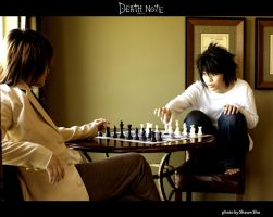 Deathnote - Chess by shiawase-chan