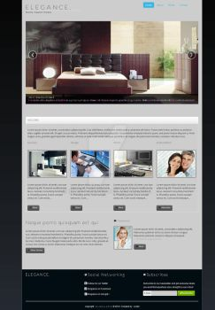 Elegance Company Website Theme #2 by imnotcurly