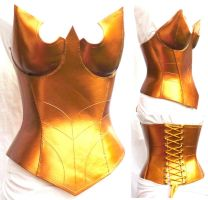 Super heroine corset by WildeMaide