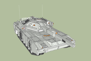 First battle tank by MSgtHaas