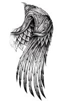 ornate wing by AYEUHONE