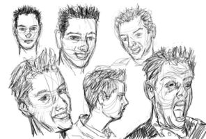 Faces of Chris by Hoabert
