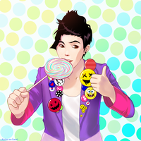 Lollipop guy: G-Dragon by airisunokaori