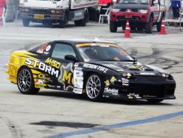 M-Storm Yokohama Singha with Overdrive 200SX by sudro