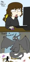Skyrim- Wyverns? by NikiStix