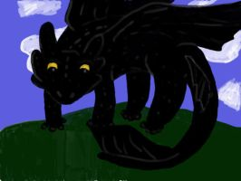 Toothless by Wynter-Heart