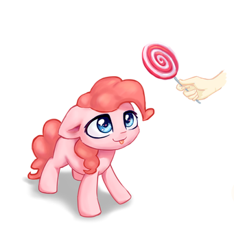 Some sweets for Pinkie by INowISeeI