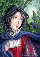Snow White ACEO by MeredithDillman