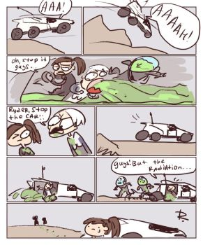 Mass Effect: Andromeda, 5 by Ayej