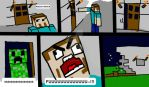 Minecraft Comic 1: The Creeper by suki-KITTI-L0VE