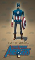 Capitain America! by ehnoi