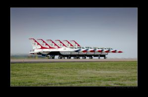 Thunderbirds Parked by jdmimages