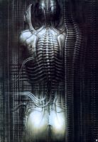 H. R. Giger XIII by CamillOnline