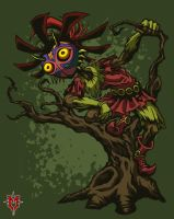 Skull Kid'd by Masebreaker