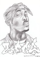 2Pac by Snakes03