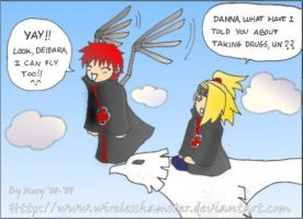 Flying Sasori -color- by WirelessHamster