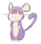 Rattata by Zhooves