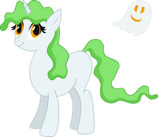 My OC Pony! (Going With Ecto Light) by GGod