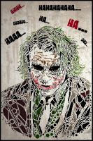 Heath Ledger - The Joker by TheIronMother