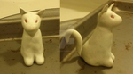 Wip- Clay cat- Nightshade/shadow by wolftail1999