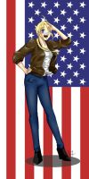 APH Gender Bender: America by yunichan