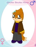 Gender Bender Meme: Nick by Buizelfreak