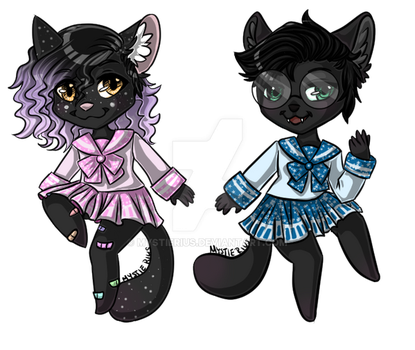 Chibi Commision - Pastel-Witch by MystieRius