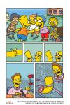 Thumb Wrestling - Page One (Bart Simpson #89) by deanrankine