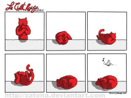 Le chat rouge 6 by Zatona