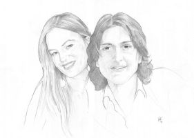 Gianmarco and Francesca by COR-Illustrations