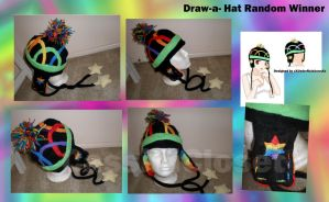 Draw a Hat random winner by CassiniCloset
