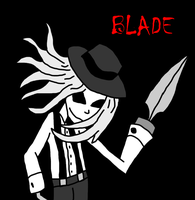 Blade. by Horror-Fox