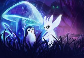 Ori and The Blind Forest by sweptaway91