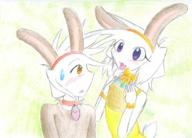 Me, You, Bunny by GiniXD