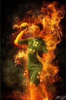 Alex is on fire by Fr3D52