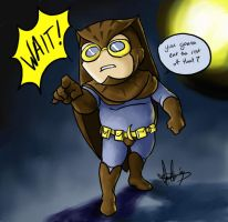 Nite Owl - Slight Pause by Marker-Mistress